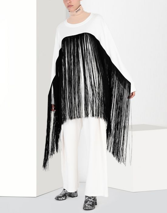 MM6 MAISON MARGIELA Long cotton sweatshirt Sweatshirt [*** pickupInStoreShipping_info ***] r
