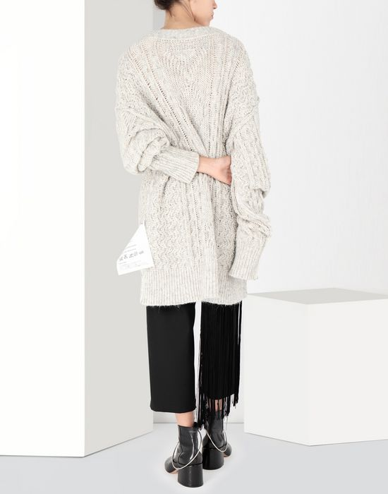 MM6 MAISON MARGIELA Oversized knitwear jumper Long sleeve sweater [*** pickupInStoreShipping_info ***] d