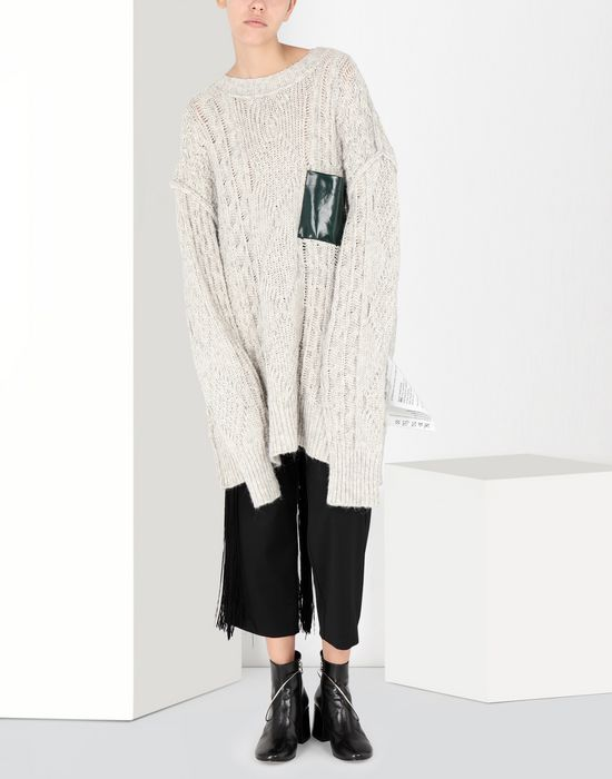MM6 MAISON MARGIELA Oversized knitwear jumper Long sleeve sweater [*** pickupInStoreShipping_info ***] f