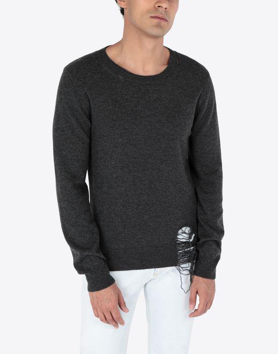 MAISON MARGIELA Wool pullover Crewneck sweater [*** pickupInStoreShippingNotGuaranteed_info ***] r