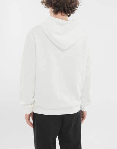 KNITWEAR 'Stereotype' cotton sweatshirt White