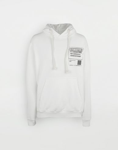 MAISON MARGIELA Sweatshirt [*** pickupInStoreShippingNotGuaranteed_info ***] 'Stereotype' cotton sweatshirt f