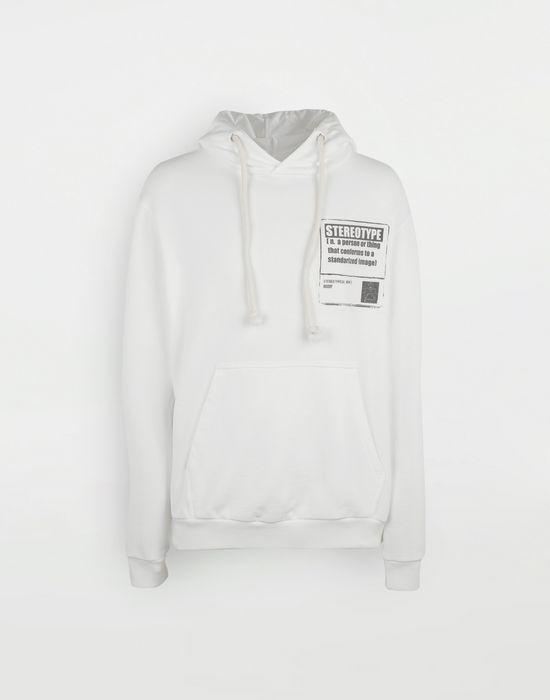 MAISON MARGIELA 'Stereotype' cotton sweatshirt Sweatshirt [*** pickupInStoreShippingNotGuaranteed_info ***] f