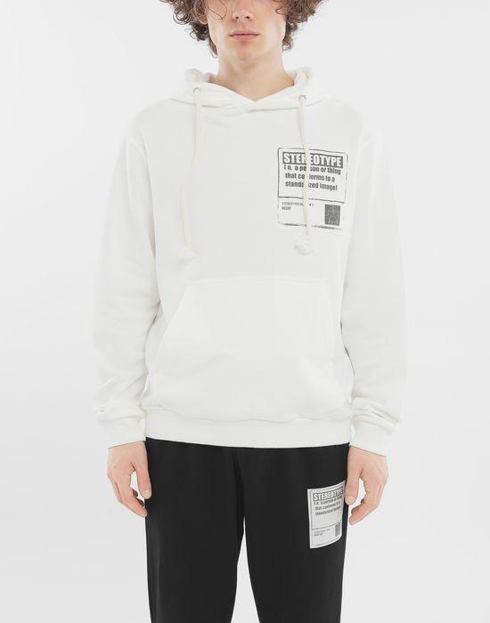 MAISON MARGIELA 'Stereotype' cotton sweatshirt Sweatshirt [*** pickupInStoreShippingNotGuaranteed_info ***] r