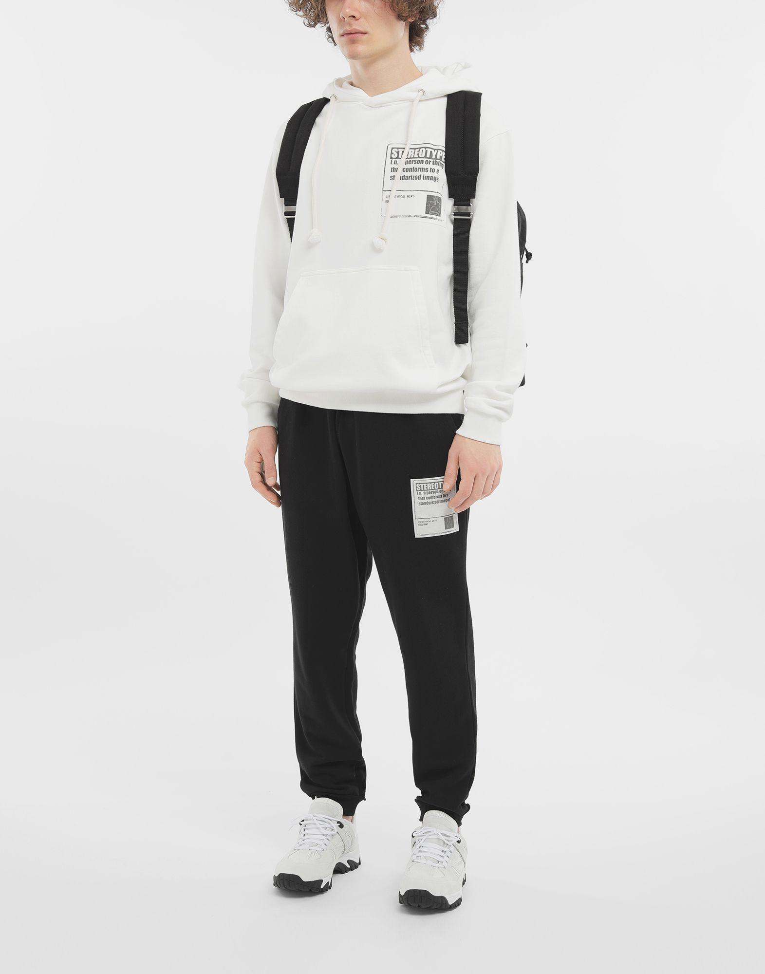 MAISON MARGIELA Sweat-shirt «Stereotype» en coton Sweatshirt Homme d