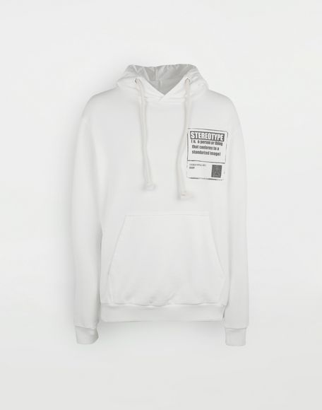 MAISON MARGIELA 'Stereotype' cotton sweatshirt Sweatshirt Man f