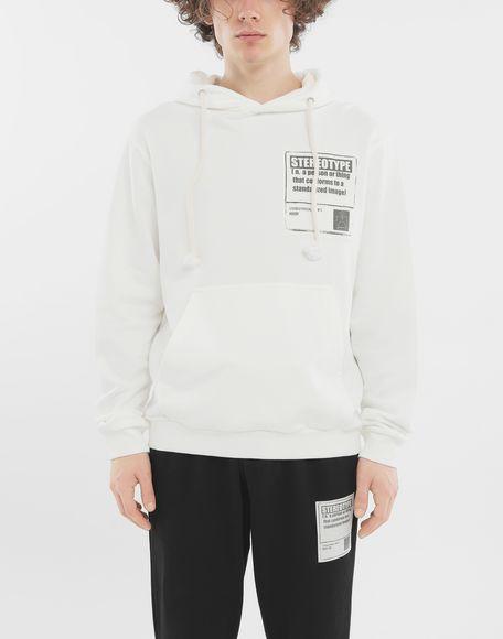 MAISON MARGIELA 'Stereotype' cotton sweatshirt Sweatshirt Man r