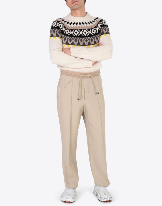 MAISON MARGIELA Printed wool sweatshirt Crewneck sweater [*** pickupInStoreShippingNotGuaranteed_info ***] d