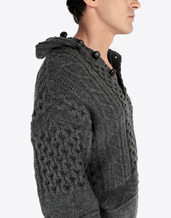 MAISON MARGIELA Destroyed pullover High neck sweater [*** pickupInStoreShippingNotGuaranteed_info ***] a