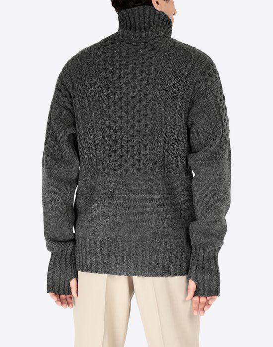 MAISON MARGIELA Destroyed pullover High neck sweater [*** pickupInStoreShippingNotGuaranteed_info ***] e