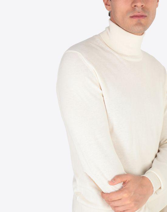 MAISON MARGIELA Cotton blend turtleneck High neck sweater [*** pickupInStoreShippingNotGuaranteed_info ***] a