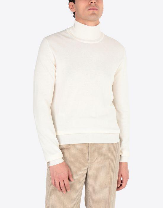 MAISON MARGIELA Cotton blend turtleneck High neck sweater [*** pickupInStoreShippingNotGuaranteed_info ***] r