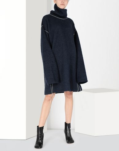 MM6 MAISON MARGIELA Long sleeve sweater Woman Oversized sparkling knitwear sweatshirt f