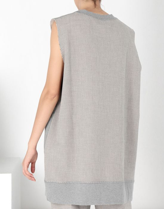 MM6 MAISON MARGIELA Sleeveless jersey sweatshirt Sweatshirt [*** pickupInStoreShipping_info ***] d