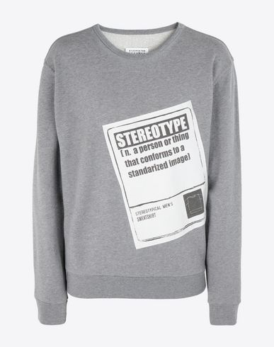 MAISON MARGIELA Sweatshirt [*** pickupInStoreShippingNotGuaranteed_info ***] 'Stereotype' sweatshirt f