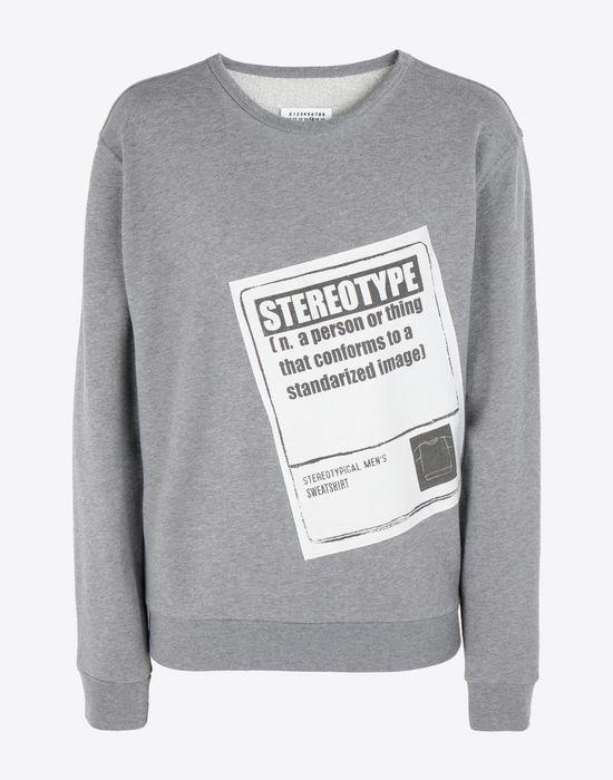 MAISON MARGIELA 'Stereotype' sweatshirt Sweatshirt [*** pickupInStoreShippingNotGuaranteed_info ***] f