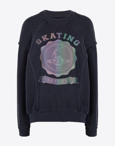 MAISON MARGIELA Sweatshirt Woman Skating' printed sweatshirt f