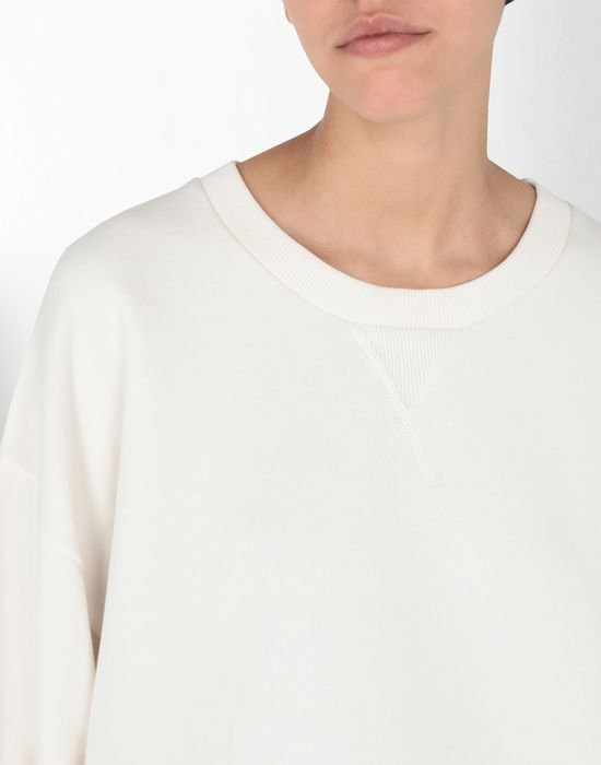 MM6 MAISON MARGIELA Asymetric cotton sweatshirt Sweatshirt [*** pickupInStoreShipping_info ***] e