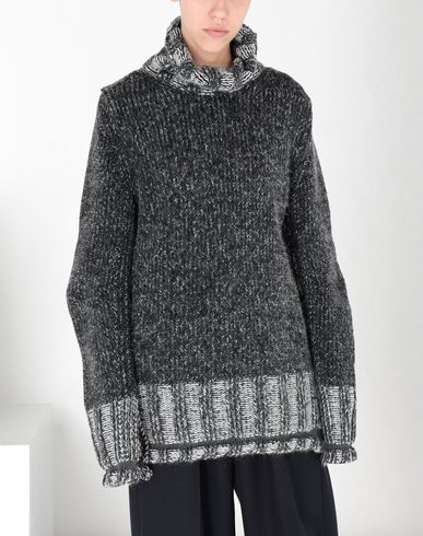 MM6 MAISON MARGIELA Long sleeve sweater [*** pickupInStoreShipping_info ***] Oversized Vanisè knit jumper f