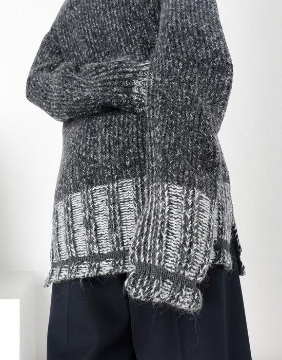 MM6 MAISON MARGIELA Oversized Vanisè knit jumper Long sleeve sweater [*** pickupInStoreShipping_info ***] a