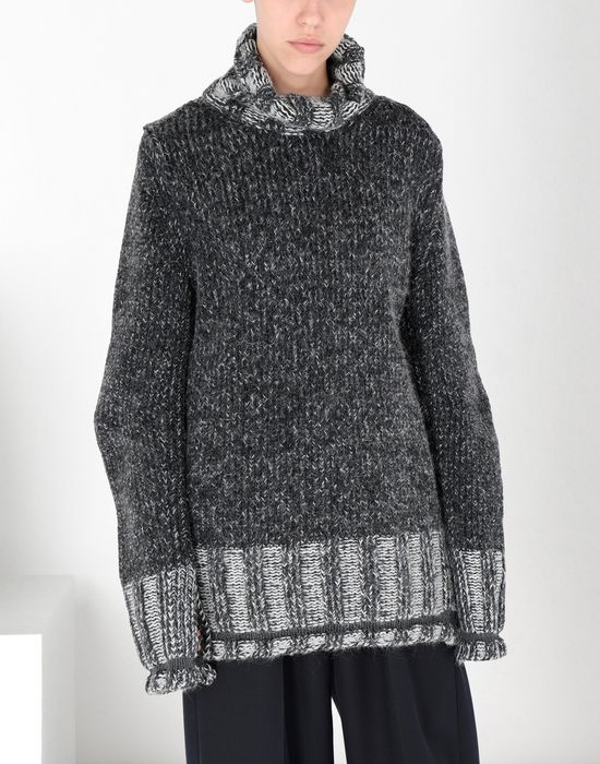 MM6 MAISON MARGIELA Oversized Vanisè knit jumper Long sleeve sweater [*** pickupInStoreShipping_info ***] f