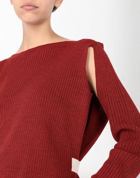 MM6 MAISON MARGIELA Cut-out knitwear pullover Long sleeve sweater [*** pickupInStoreShipping_info ***] e