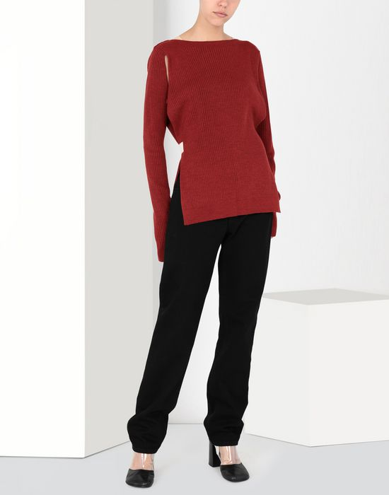 MM6 MAISON MARGIELA Cut-out knitwear pullover Long sleeve sweater [*** pickupInStoreShipping_info ***] f