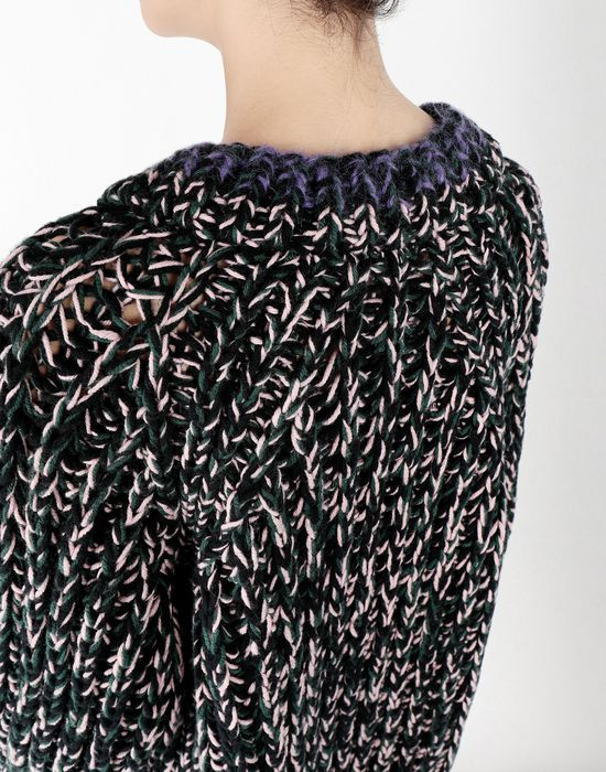 MM6 MAISON MARGIELA Oversized handmade knit sweater Long sleeve sweater [*** pickupInStoreShipping_info ***] a