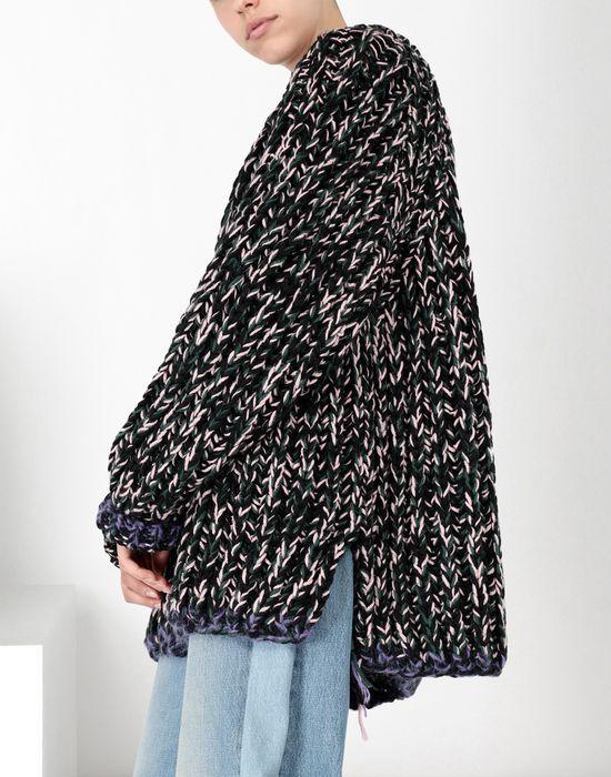 MM6 MAISON MARGIELA Oversized handmade knit sweater Long sleeve sweater [*** pickupInStoreShipping_info ***] e