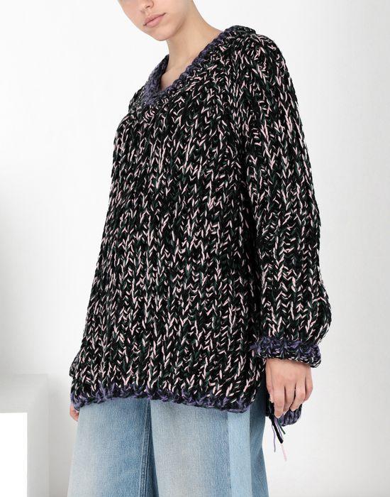 MM6 MAISON MARGIELA Oversized handmade knit sweater Long sleeve sweater [*** pickupInStoreShipping_info ***] f