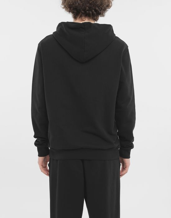 MAISON MARGIELA Zip-detail cotton hoodie Hooded sweatshirt [*** pickupInStoreShippingNotGuaranteed_info ***] e