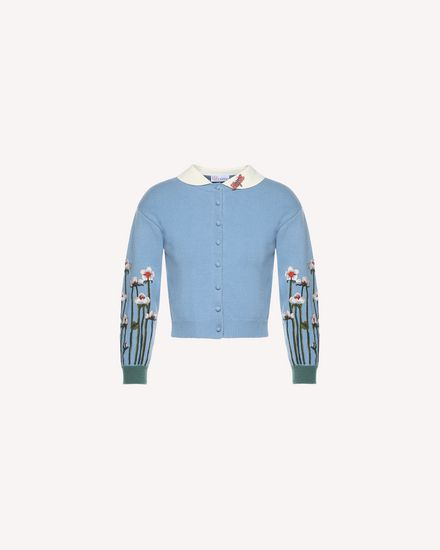 REDValentino Knit Sweater Woman QR3KA0J93WC HL8 a