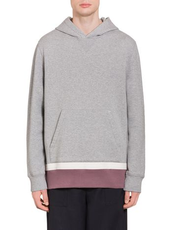 Marni Hooded sweatshirt in jersey Man