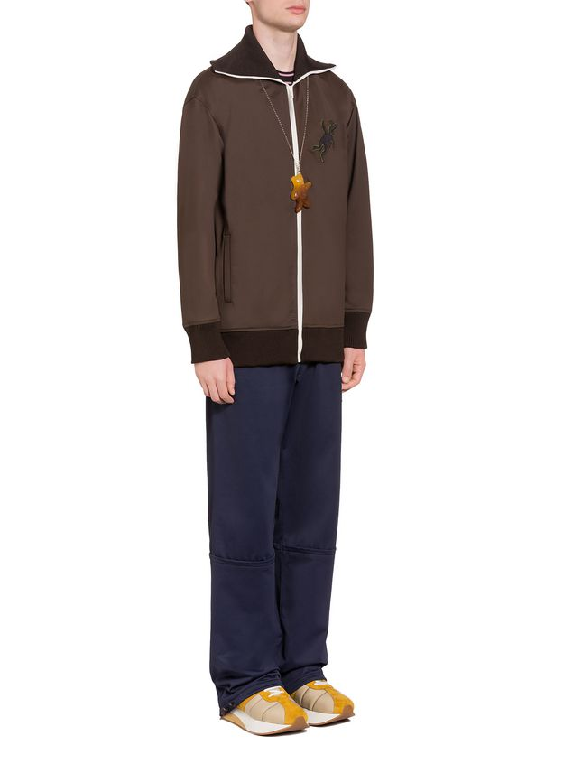 Marni Sweatshirt in double jersey with rabbit silhouette Man - 4
