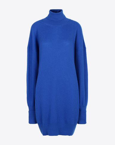 MAISON MARGIELA High neck sweater Woman Oversized woollen pullover f
