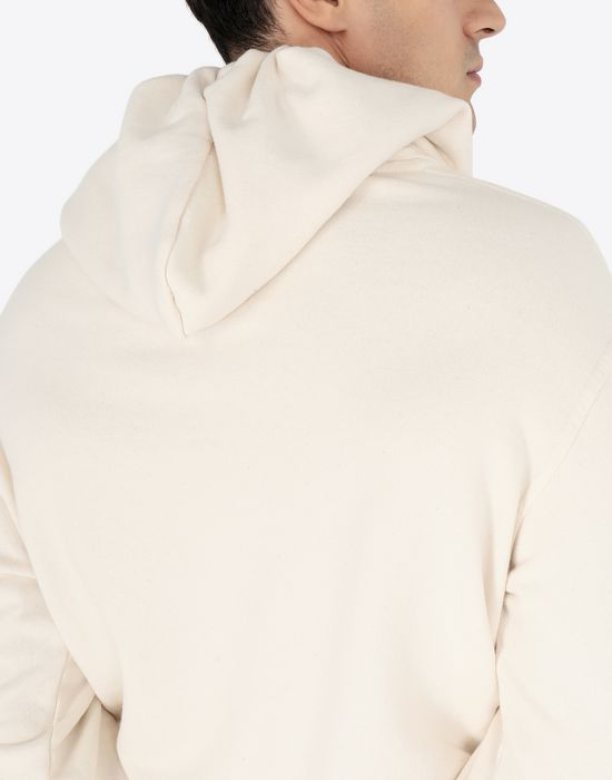 MAISON MARGIELA Cotton logo sweatshirt Hooded sweatshirt [*** pickupInStoreShippingNotGuaranteed_info ***] b
