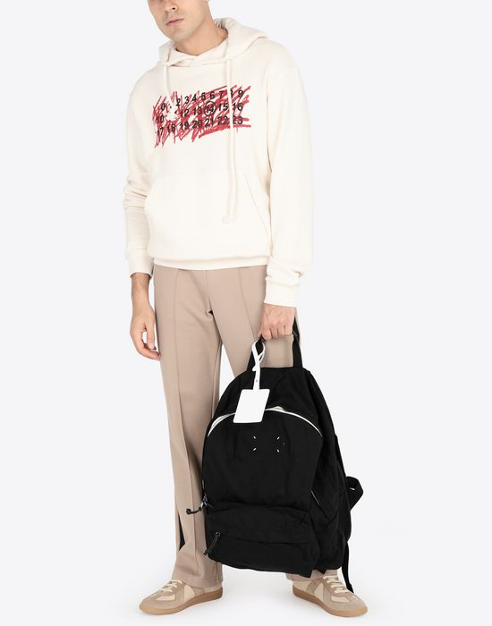 MAISON MARGIELA Cotton logo sweatshirt Hooded sweatshirt [*** pickupInStoreShippingNotGuaranteed_info ***] r