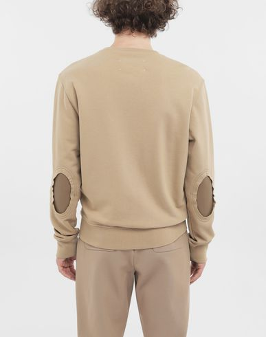 SWEATERS Cotton pullover Camel