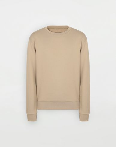 KNITWEAR Cotton pullover Camel