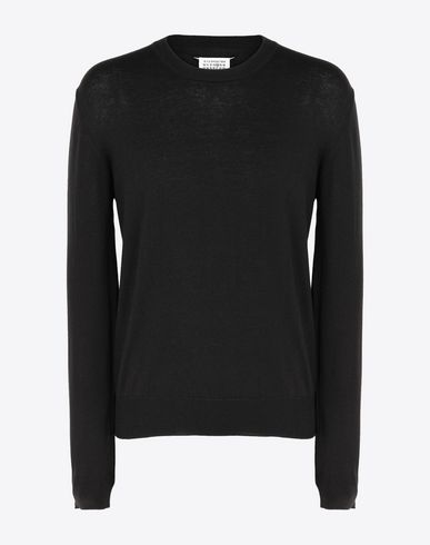 MAISON MARGIELA Long sleeve sweater [*** pickupInStoreShippingNotGuaranteed_info ***] Cotton blend pullover f