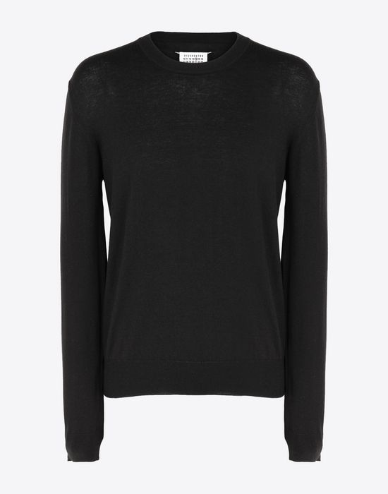 MAISON MARGIELA Cotton blend pullover Long sleeve sweater [*** pickupInStoreShippingNotGuaranteed_info ***] f