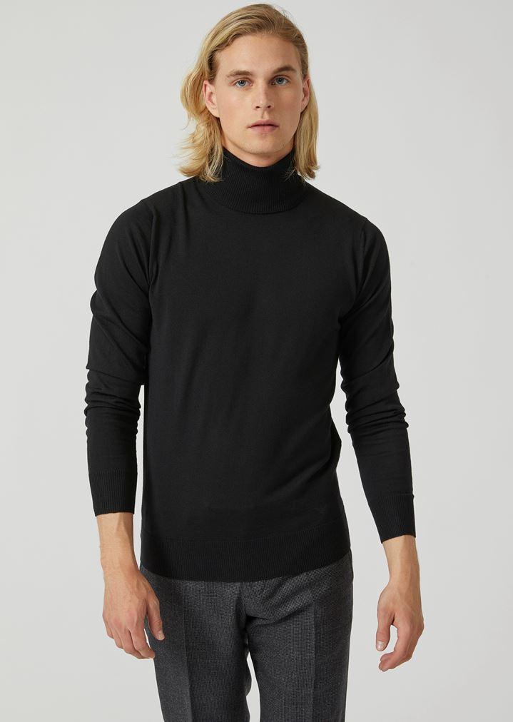design senza tempo prezzi economici prezzi al dettaglio Maglione dolcevita in puro lana vergine