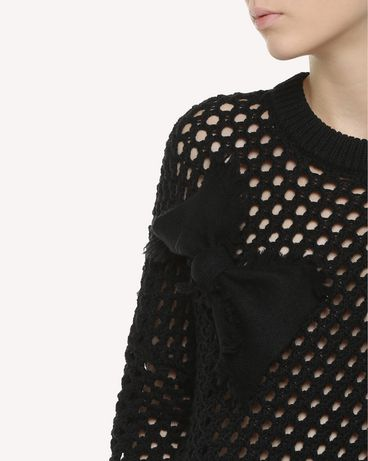 REDValentino QR3KC1B13WQ 0NO Knit Sweater Woman e