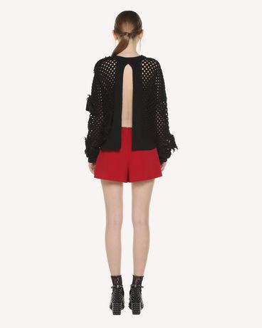 REDValentino QR3KC1B13WQ 0NO Knit Sweater Woman r