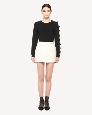 REDValentino QR3KC1D03VY0NO Knit Sweater Woman f