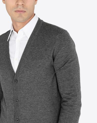 KNITWEAR V-neck cardigan Grey