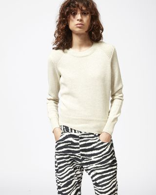 ISABEL MARANT ÉTOILE LONG SLEEVE JUMPER Woman KLEEZA knit jumper r