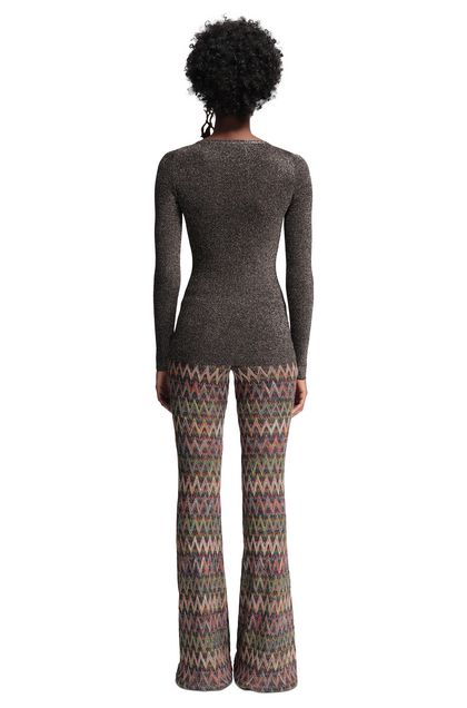 MISSONI V-Neck Dark brown Woman - Front