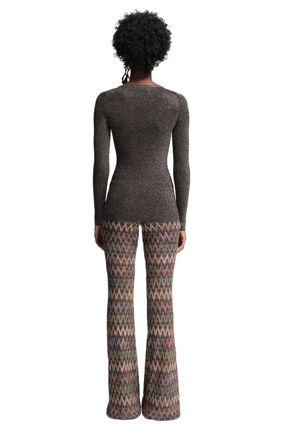 MISSONI V-Neck Woman, Rear view
