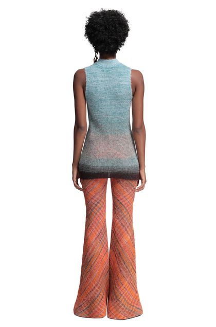 MISSONI Mock polo neck Sky blue Woman - Front